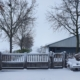 Sneeuw poort